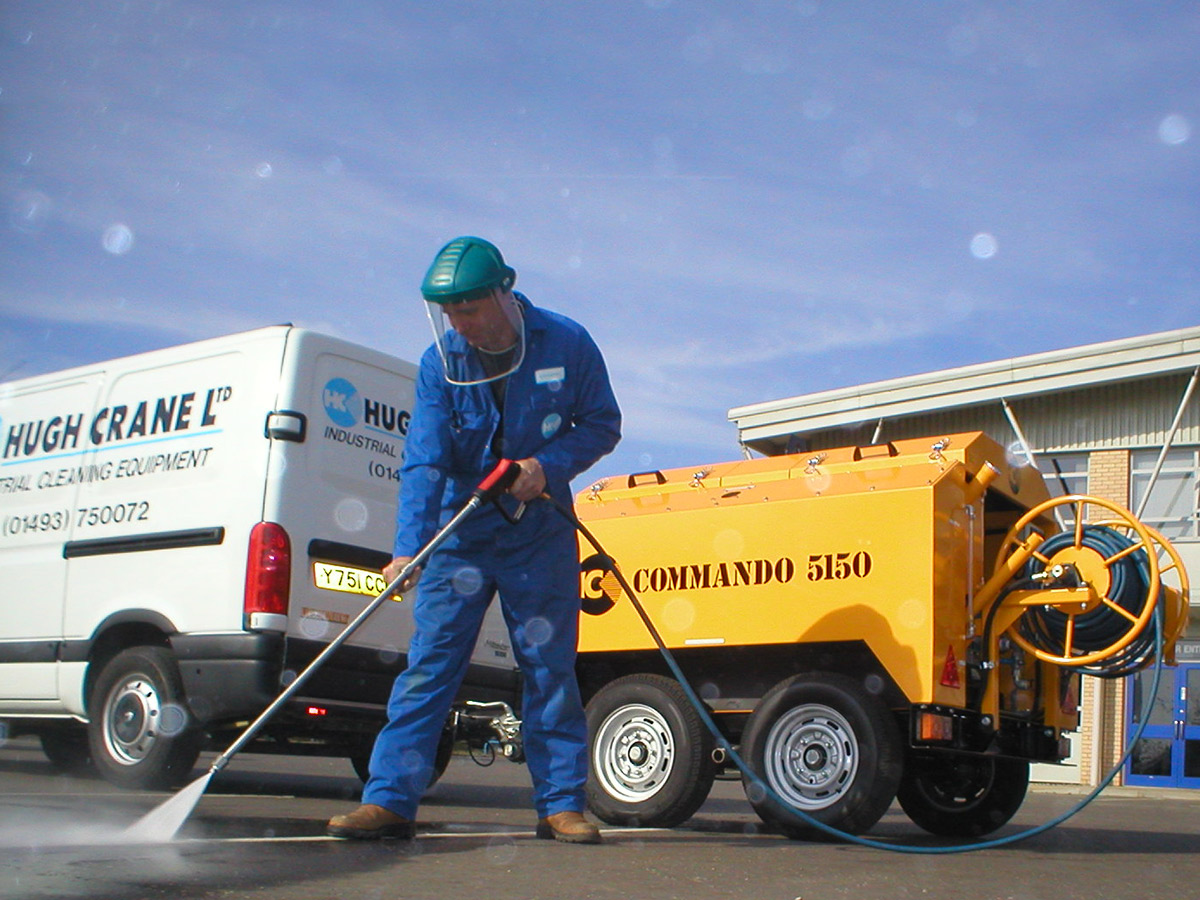 Pressure Washers for use in Facilities Management