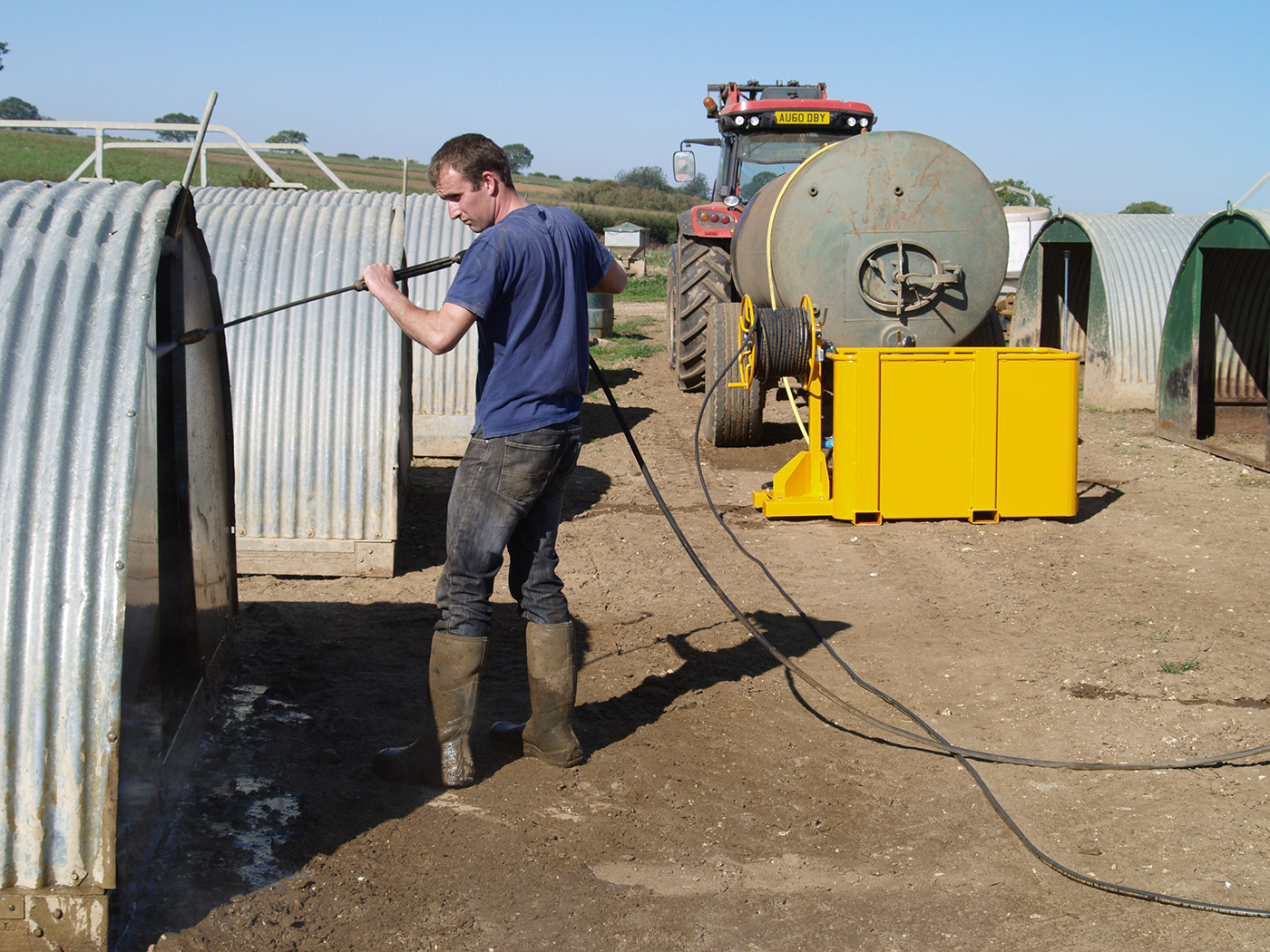 Pressure Washers for use in Agriculture