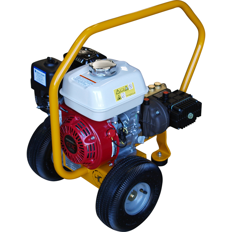 250P/350P mobile petrol engine pressure washing machines