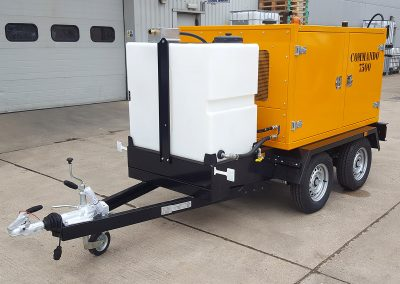Road legal twin axle trailer