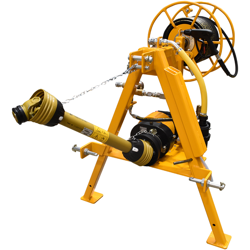 2000 Series PTO pressure washer units are ideal for applications where a tractor is available.